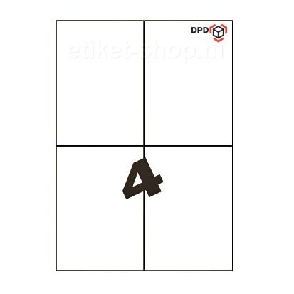 DPD-A4-etiketten-4vel-105x148mm