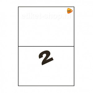 PostNL-A4-etiketten-2vel-210x1485mm